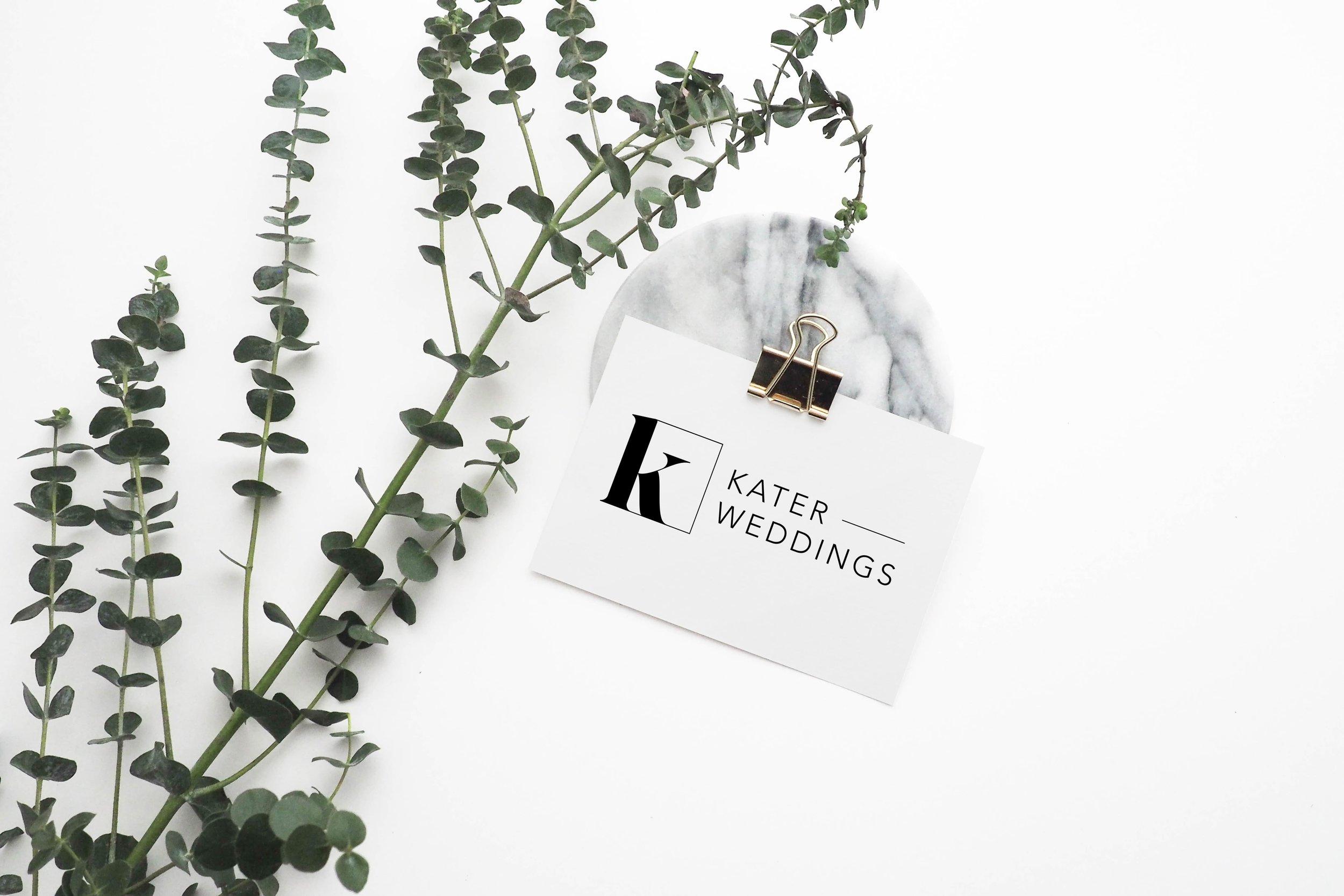 Kater Wedding logo - Full