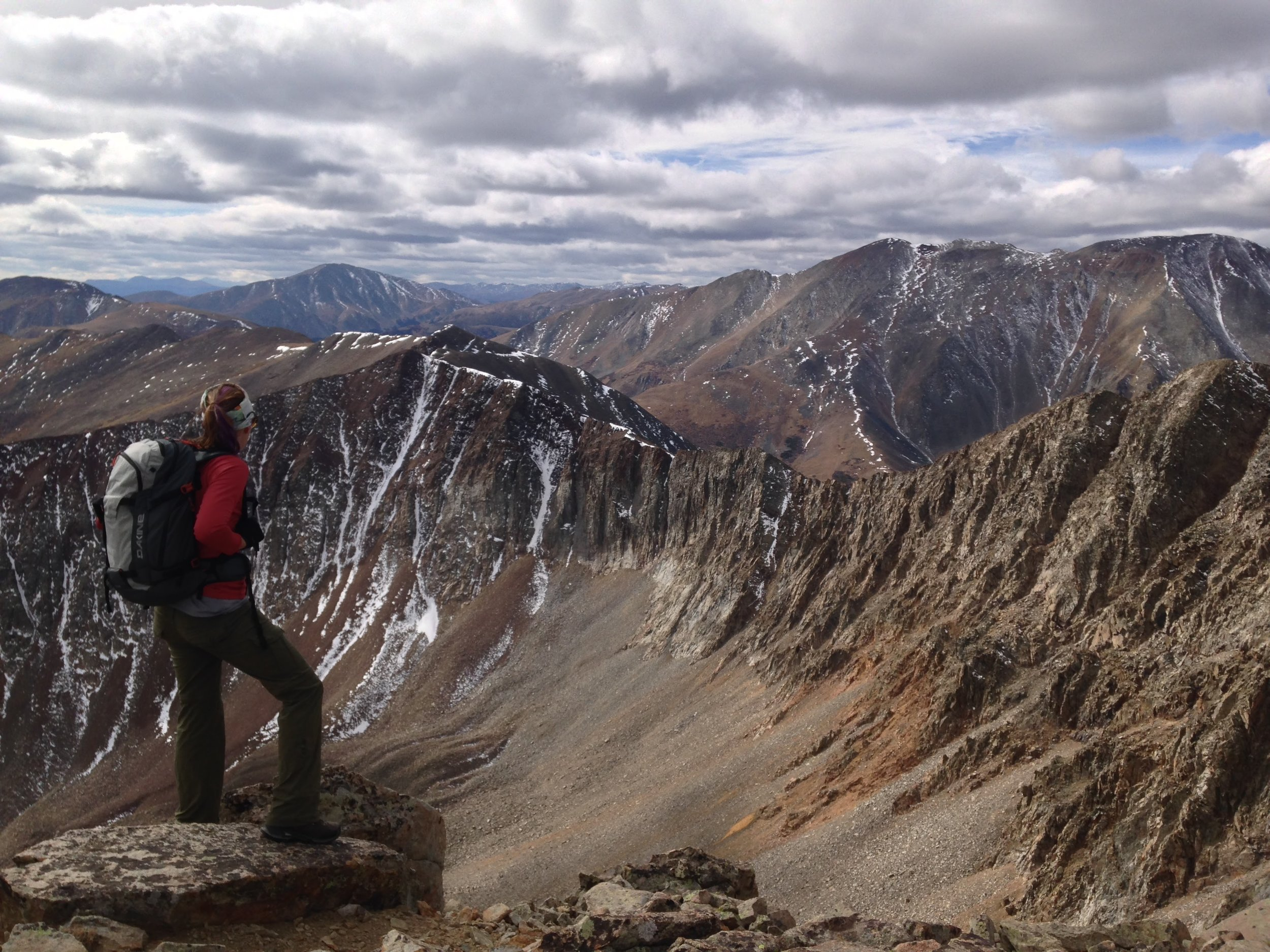 My favorite false summit of all time was this on on Mt Guyot, CO (13,376')