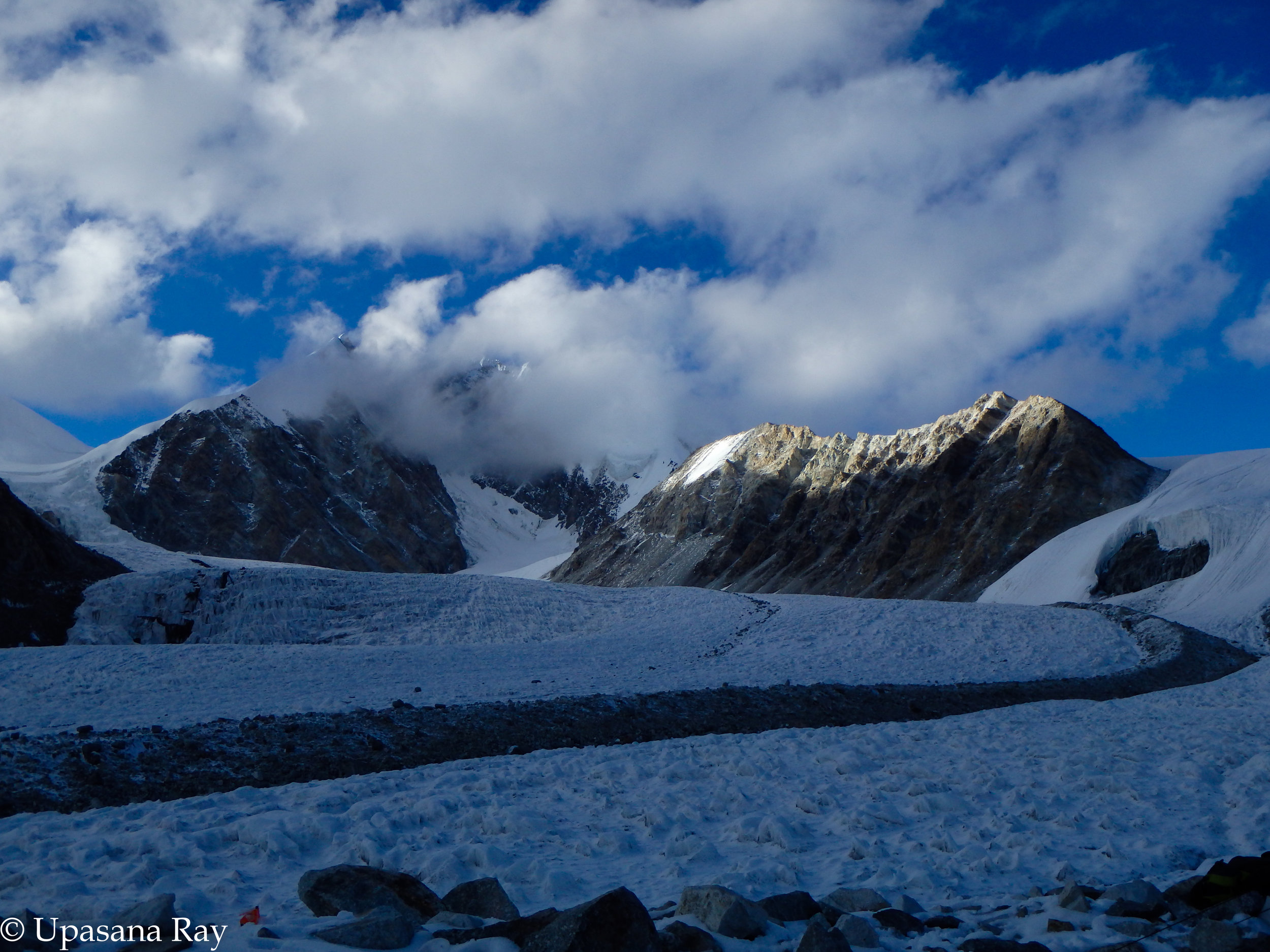 A view from Kalindi base camp