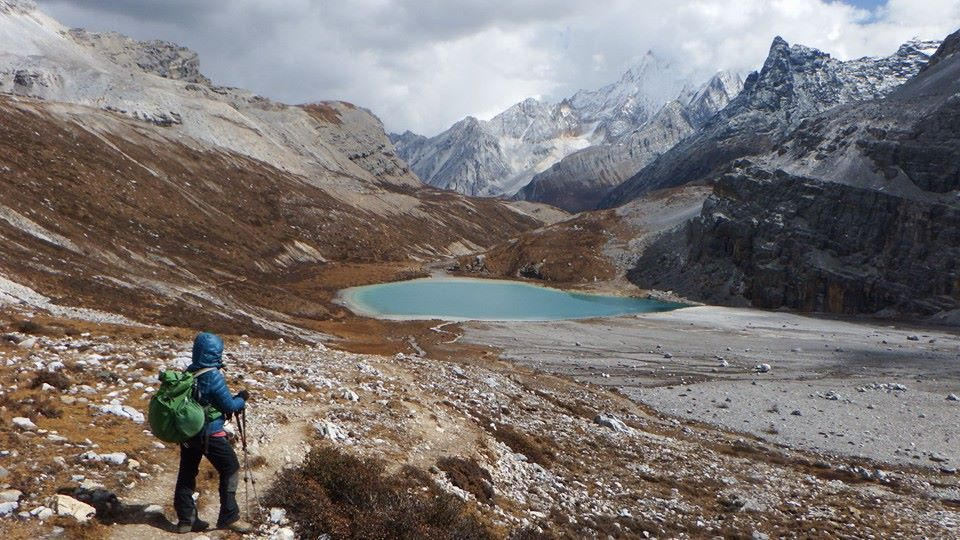 Off the beaten path in China's Yading Nature Reserve.