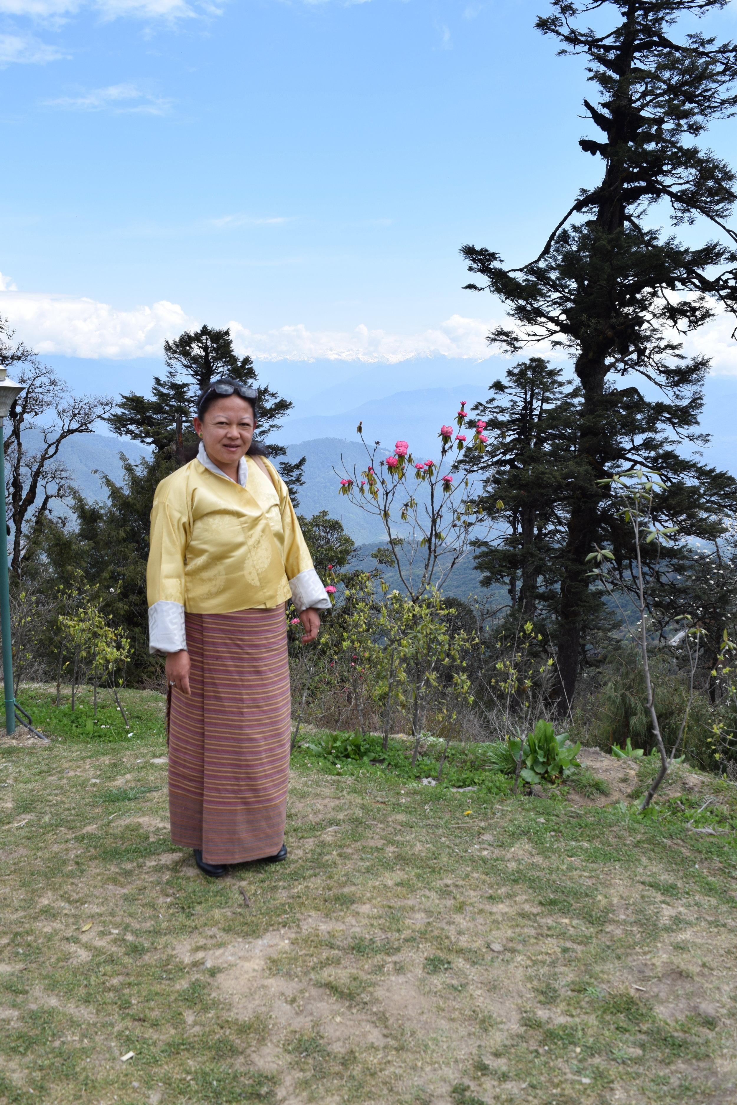 TSHERING CHOKI WANCHUK - BHUTAN'S FIRST FEMALE MOUNTAIN GUIDE