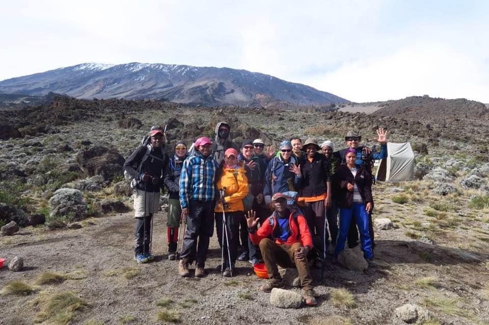 "In Kilimanjaro, we walk ""pole pole."""