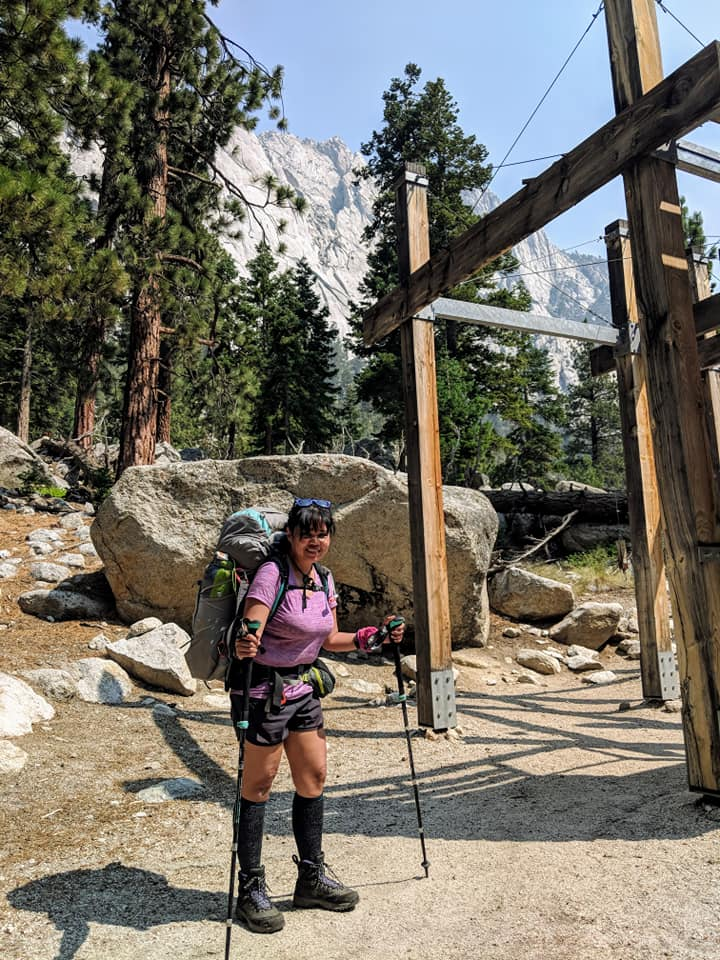 Go time on the first day at Whitney Portal.