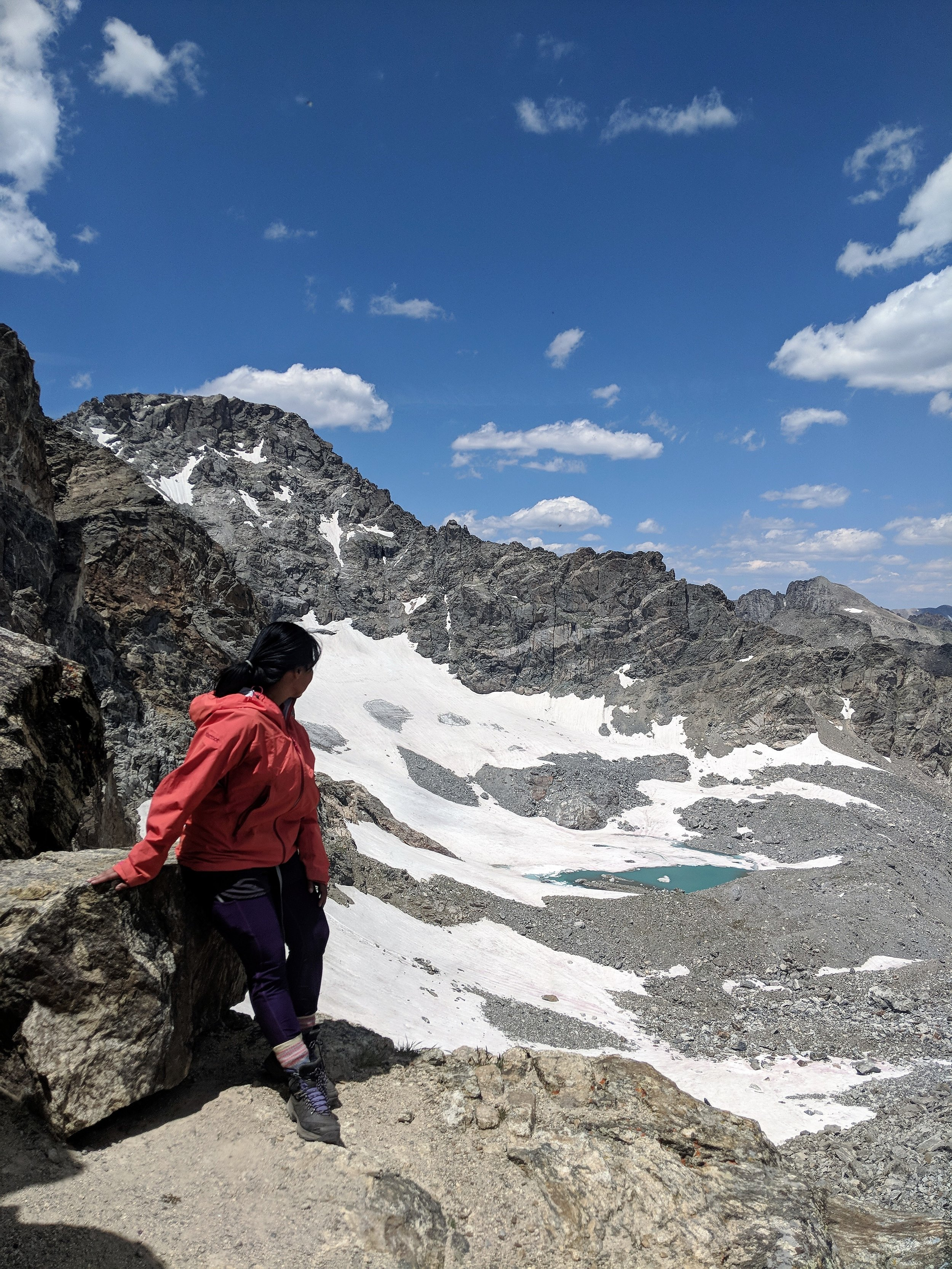 Training in Colorado's Indian Peaks Wilderness.