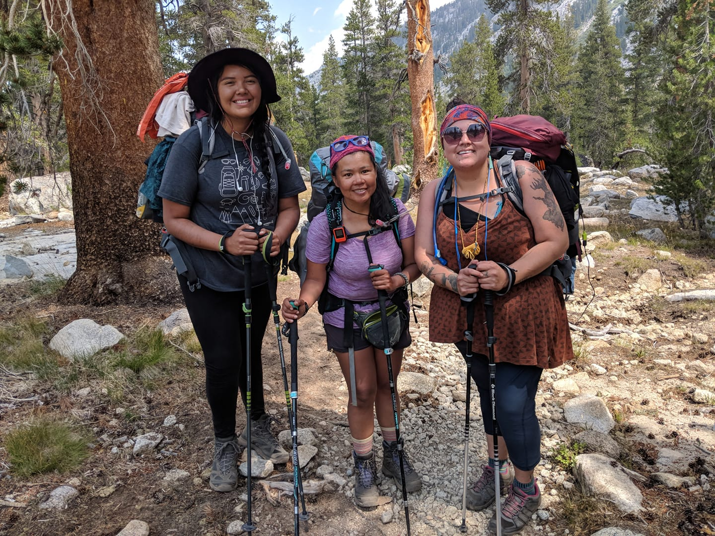 Likewise, the Indigenous Women Hikers are diversifying the outdoors.