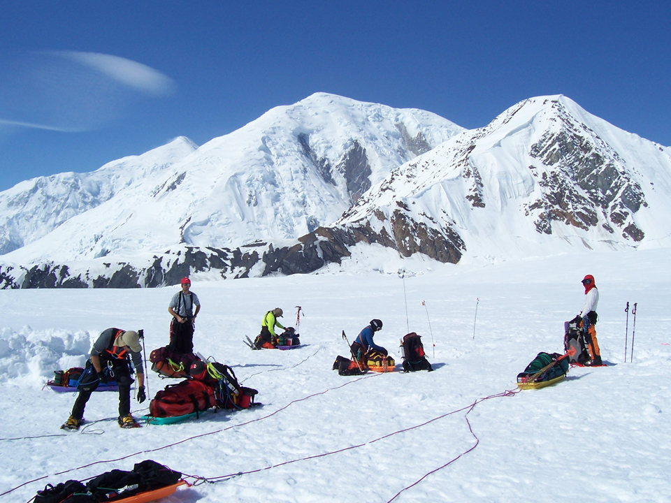 Training in Denali, US.