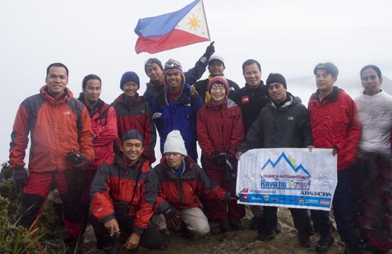 Junko Tabei in Mt. Apo with FPMEE.jpg