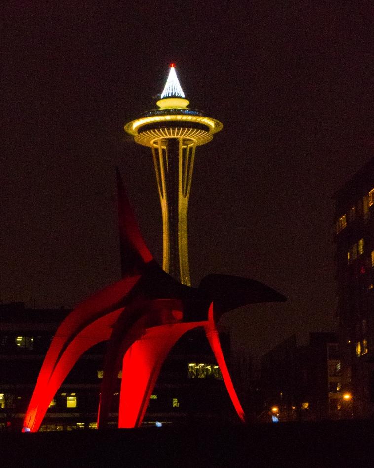 December, 2015 - SAM Lights - Olympic Sculpture Park, Seattle, WA