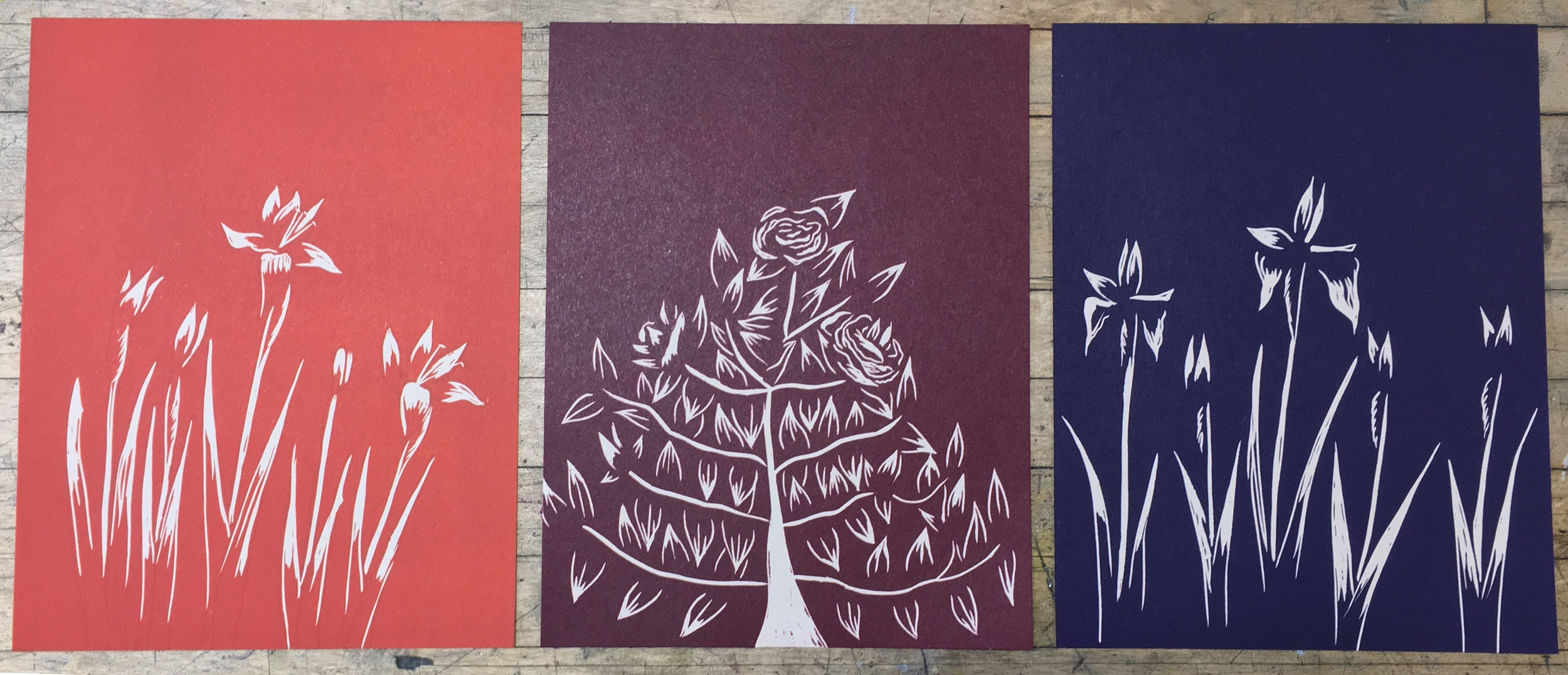 home triptych