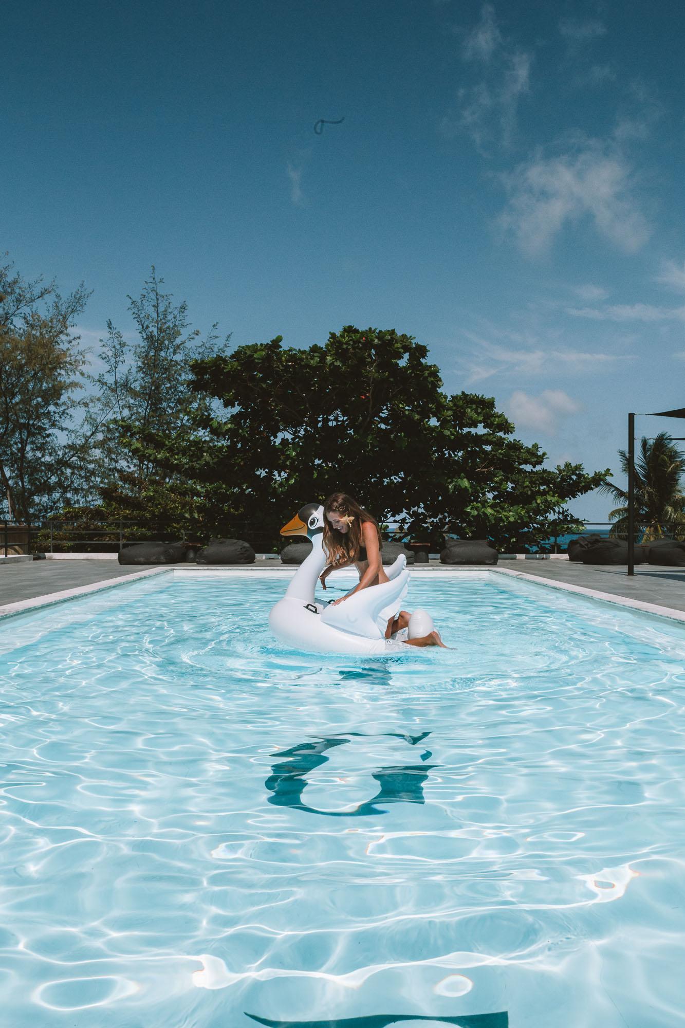 Hostel Swimming Pool - Koh Tao