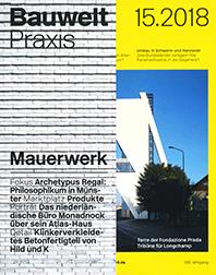 2018 - Bauwelt