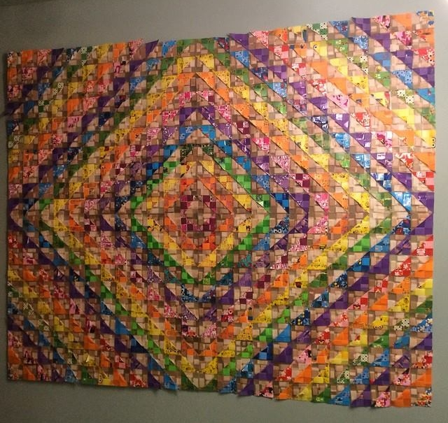 60 in x 48 in, 2015, band-aids