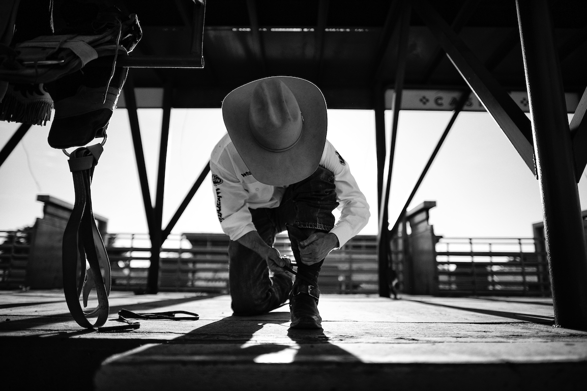 Beneath our hat - The mental side of rodeo.