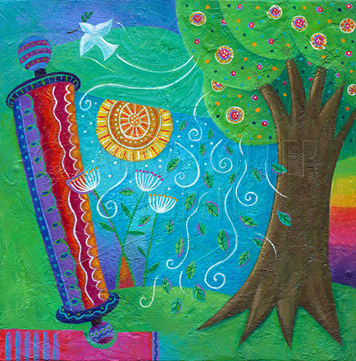 Torah Whimsy by Laura Bolter Design