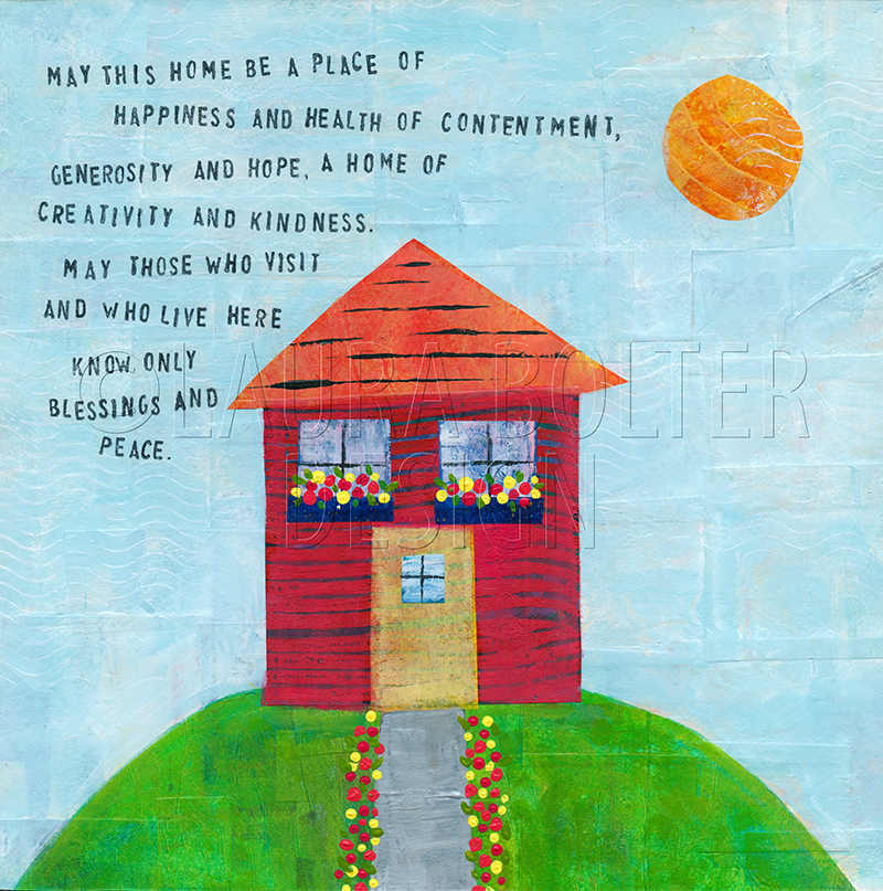 Home Blessing by Laura Bolter