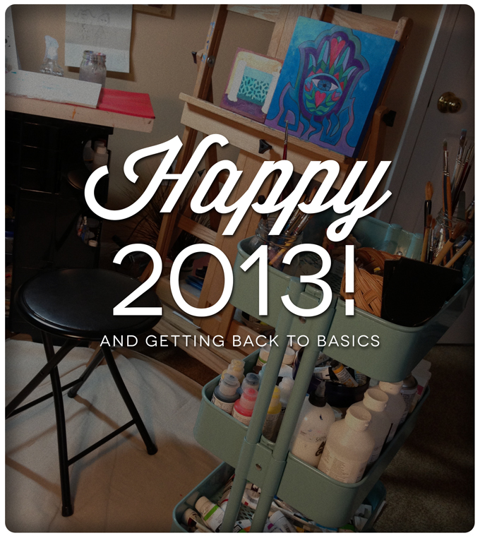 Happy 2013 studio photo