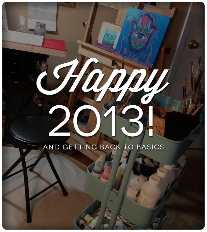 Happy 2013 studio photo