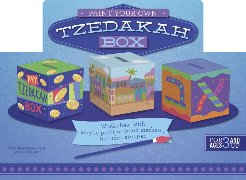 Tzedakah Box Display