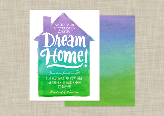 Watercolor Dream Home