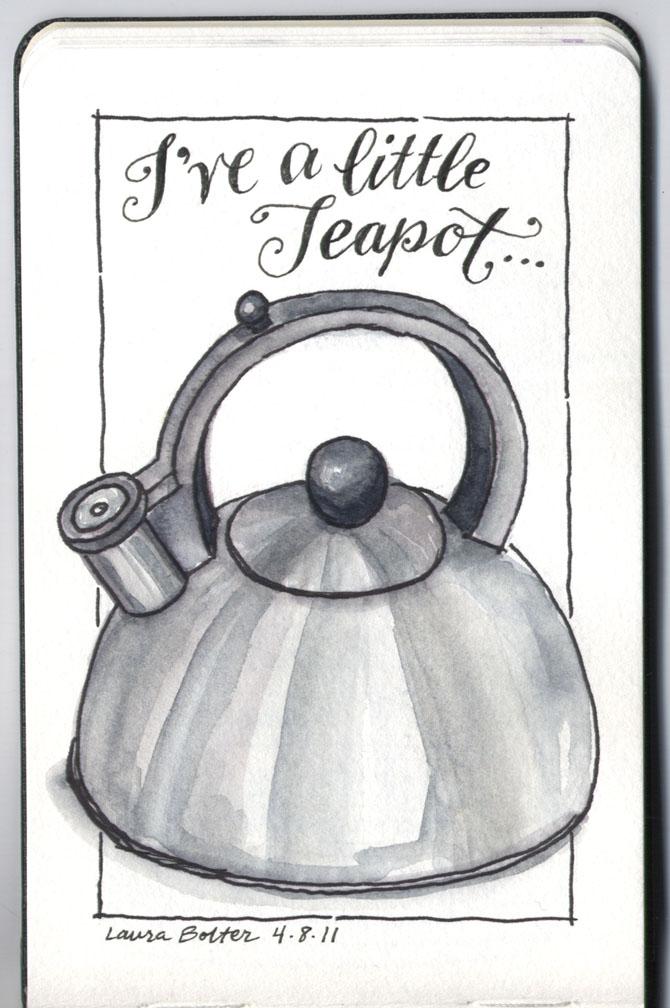 I've a little teapot