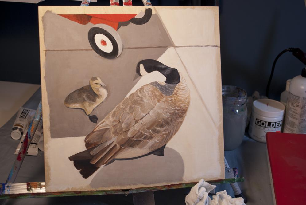 Geese-in_progress