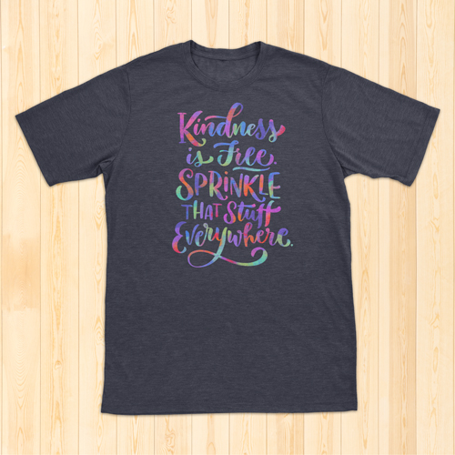 Amazon - hand-lettered t-shirts