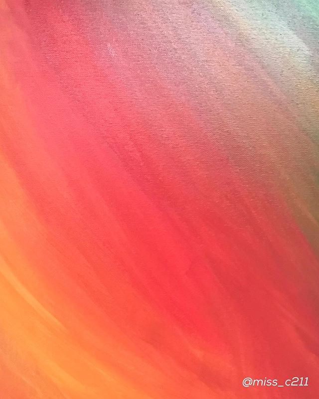 """The Warmth Of Fall & The Bold Strength Within My Soul"" • • • #peacelovestrength #acrylicpainting #acryliconcanvas #art #painting #wednesday #humpday #strength #bold #boldsoul #warmth #warmart #expression #colors #colorful #warmcolors"