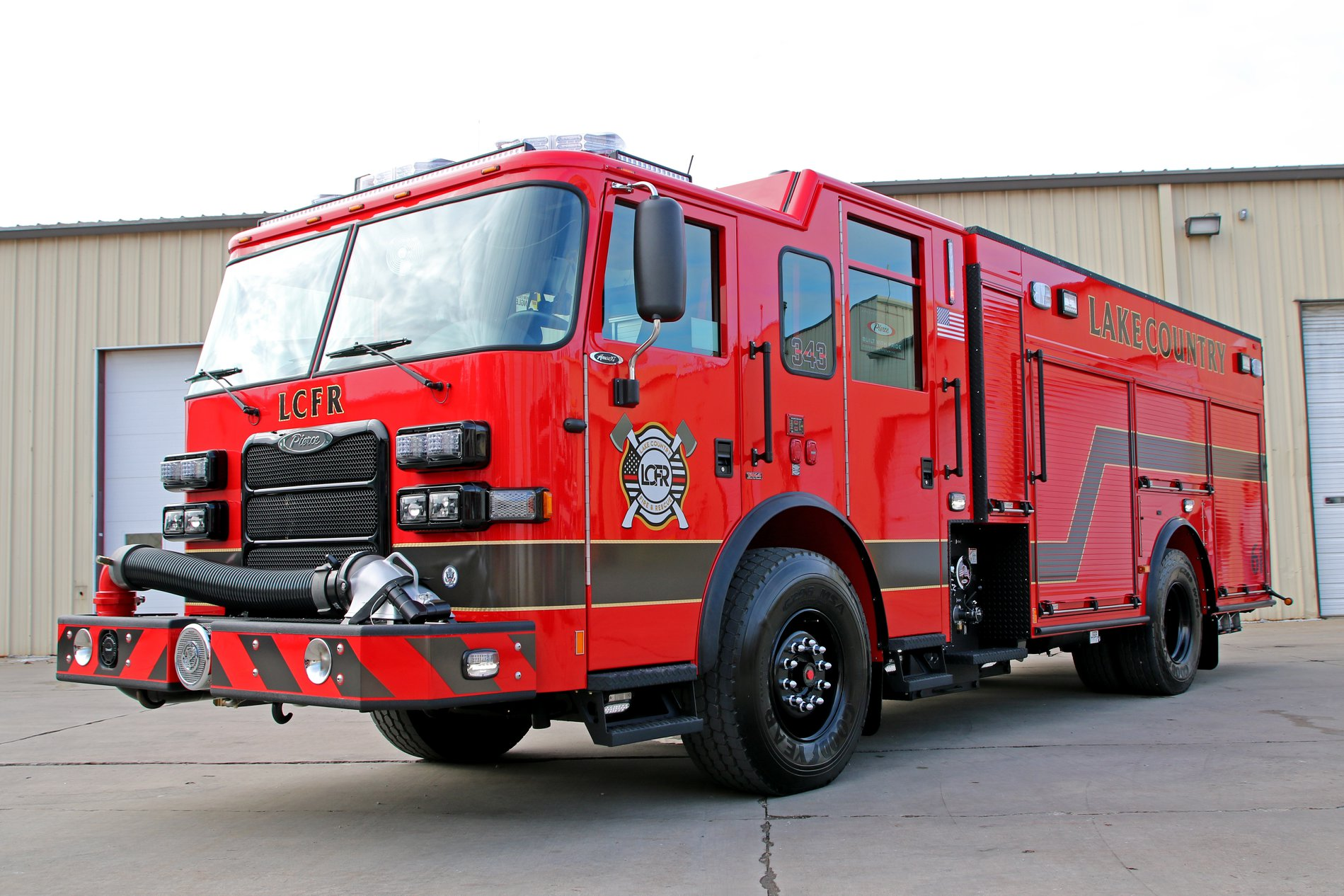 Lake Country Fire Rescue Home Page - Go to the Fire Department Home Page