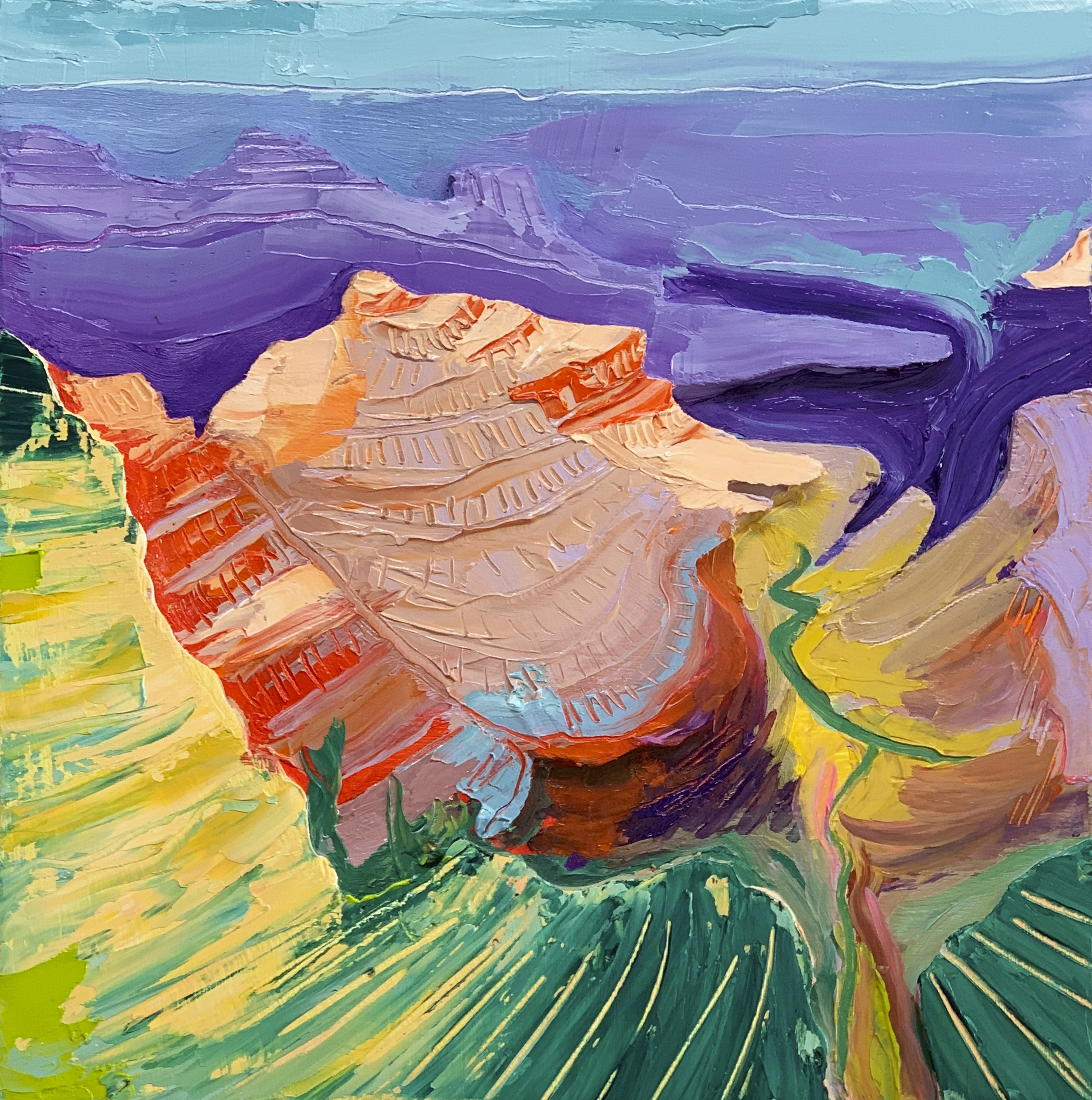 Cutout Canyon 12x12""