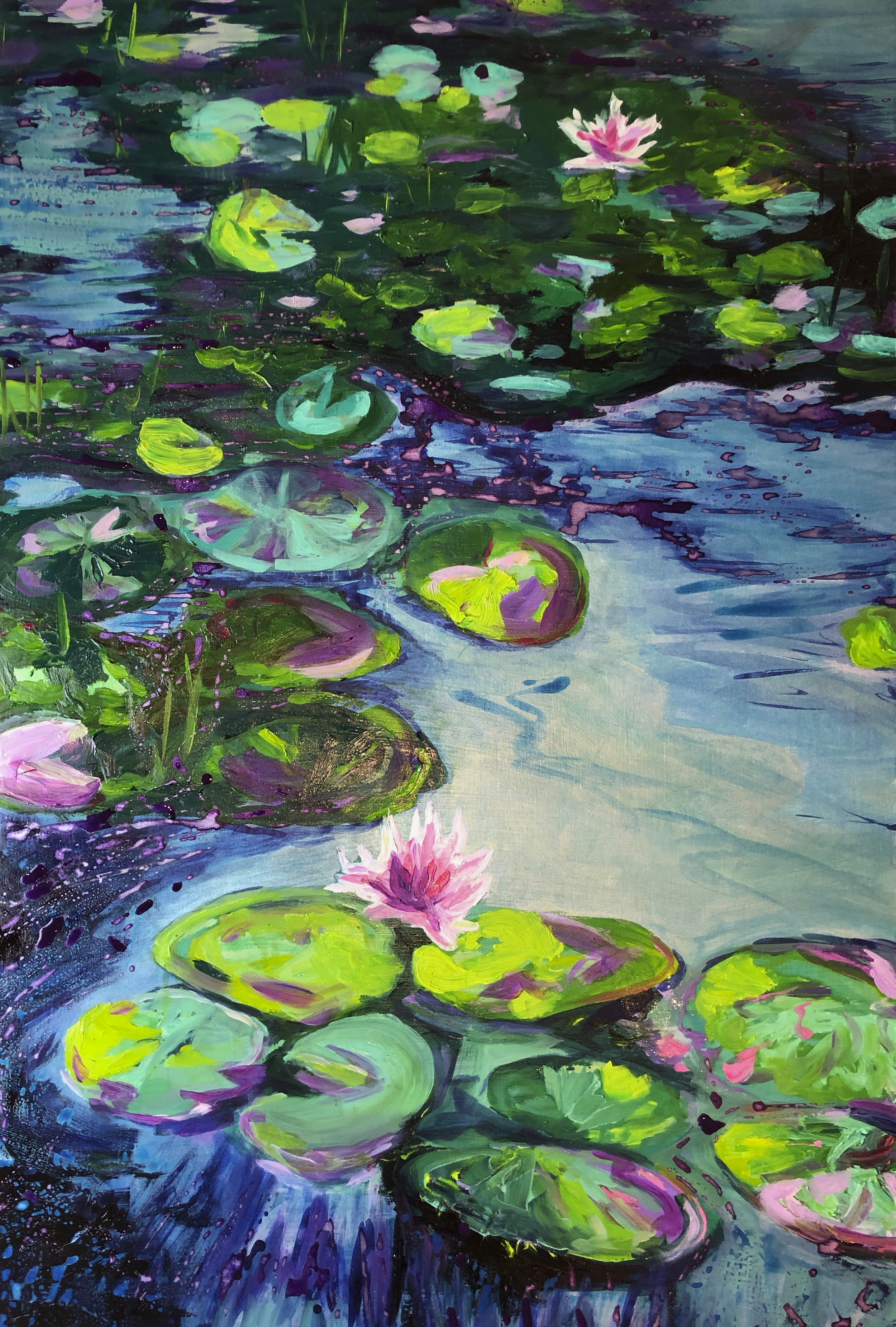 This original painting from Cypress Gardens is still available. Check out what's in stock.  https://www.craigragsdale.com/originals/