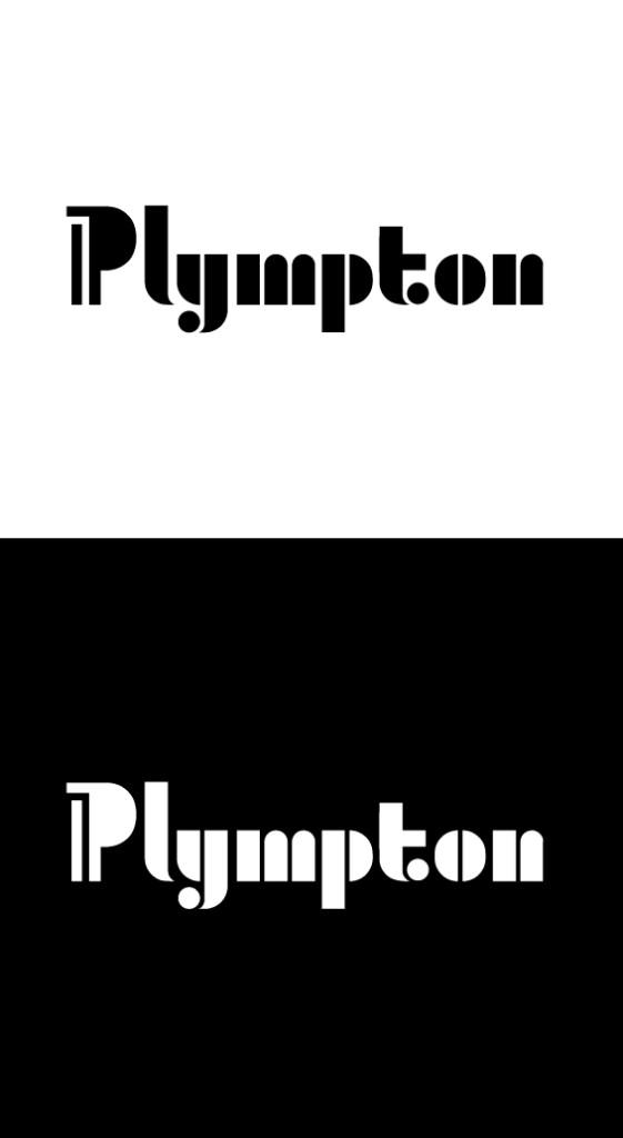 Yiying's new Plympton logos