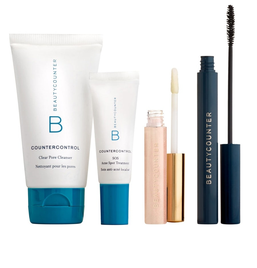 Beautycounter Skincare - Beautycounter products make great gifts for the health conscious individual. They are committed to getting safer products into the hands of everyone.Their Clean Beauty Go- Tos gift set is perfect for gym goers. It includes the Countercontrol Clear Pore Cleanser, Countercontrol SOS Acne Spot Treatment, Mini Lip Gloss, and Volumizing Mascara. It's the perfect way to refresh your look after a workout.