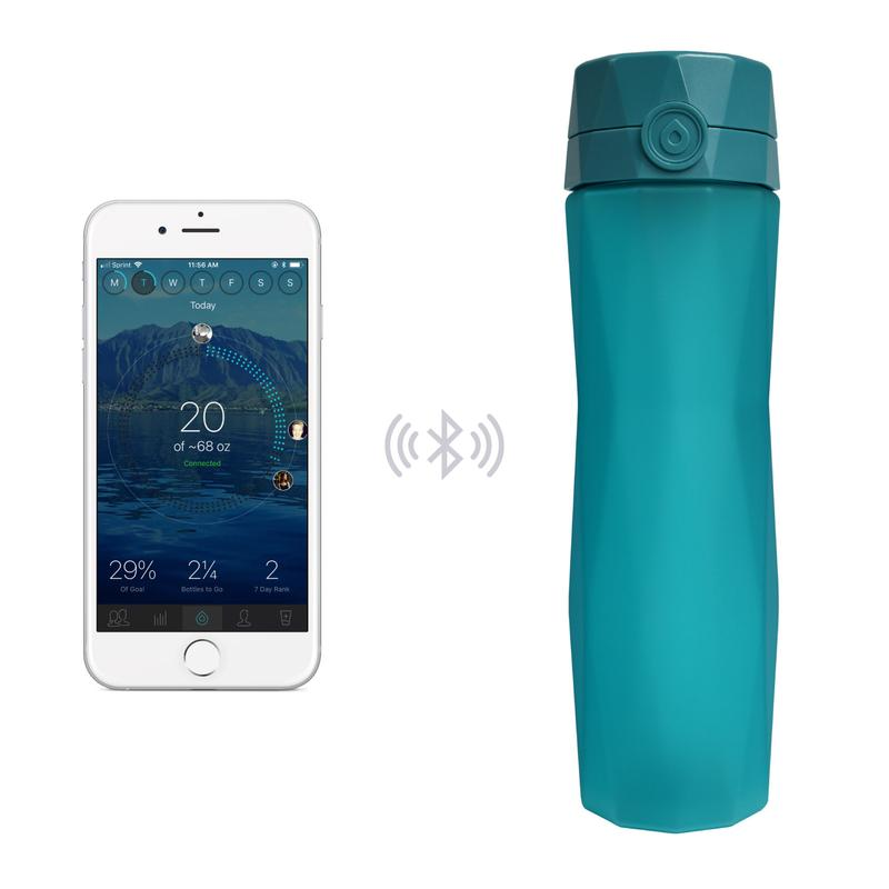 Hidrate Spark 2.0 Water Bottle - This innovative water bottle is one of my favorite items. It tracks water intakes and syncs with smartphones (iOS and Android) via Bluetooth. It also glows and can send alerts to your phone when it's time for you to drink more water. It's very helpful for a person who sits at a desk or forgets to drink water. Also, I love that the bottle is very easy to grip and dishwasher safe. It's a must for the person in your life who needs to drink more water.