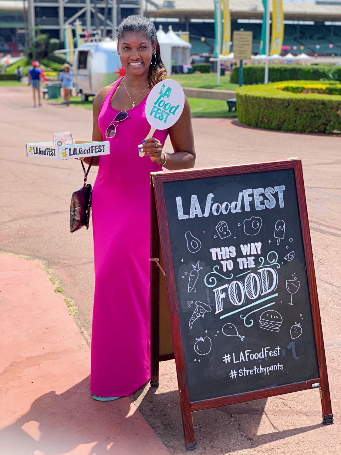Brittany Noelle at La Food Fest