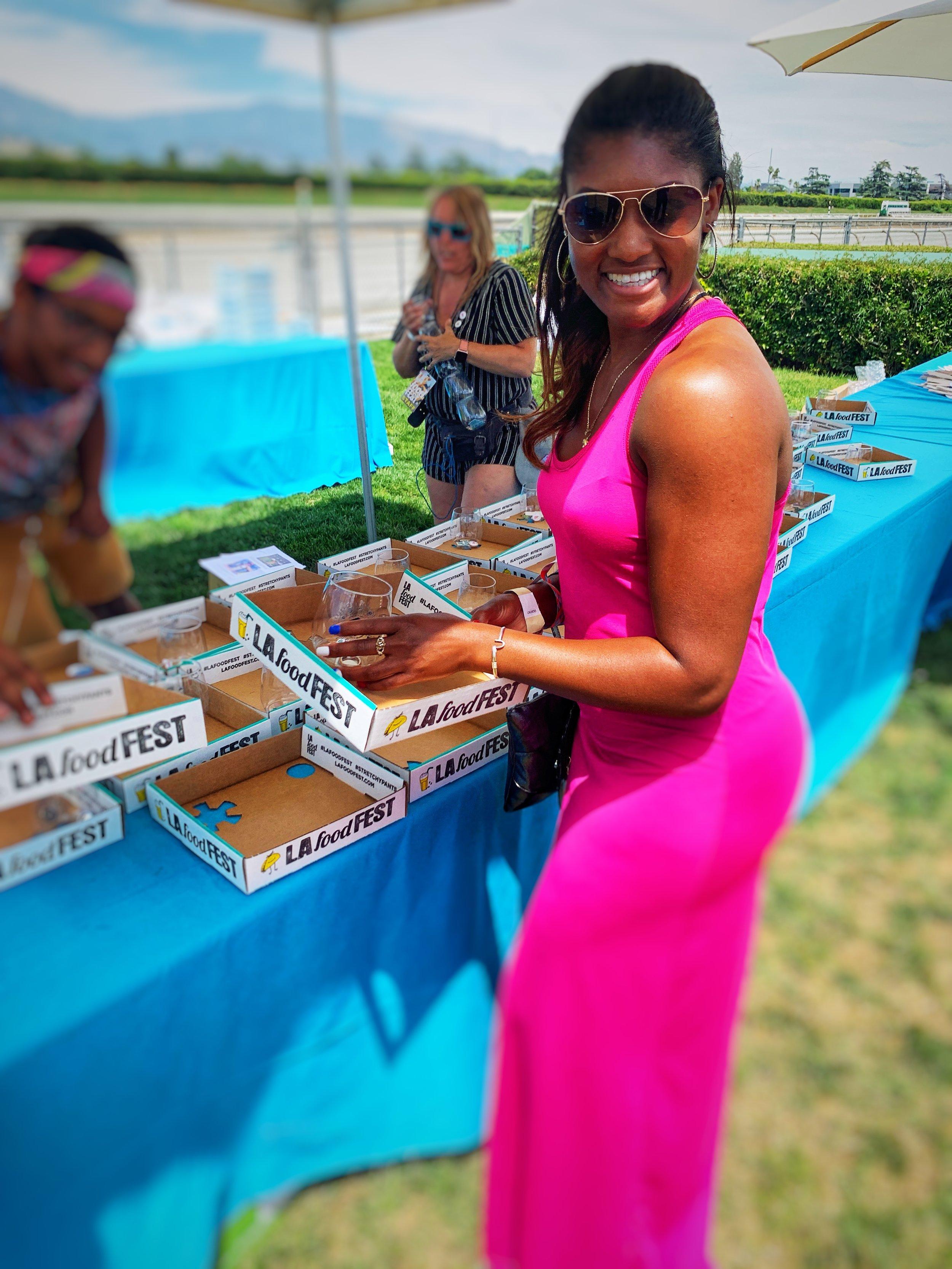 LA Food Fest Trays