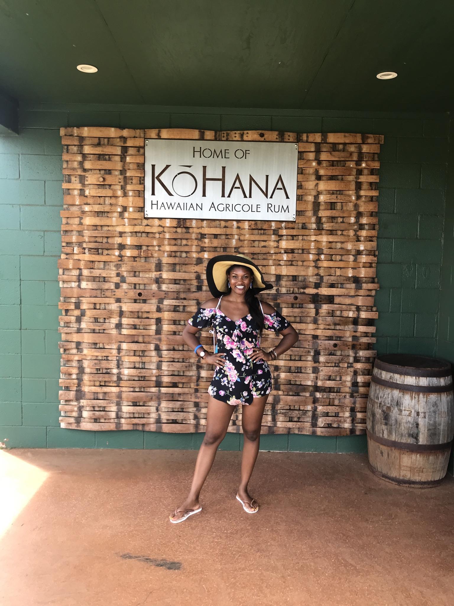 Kohana Rum Distillery