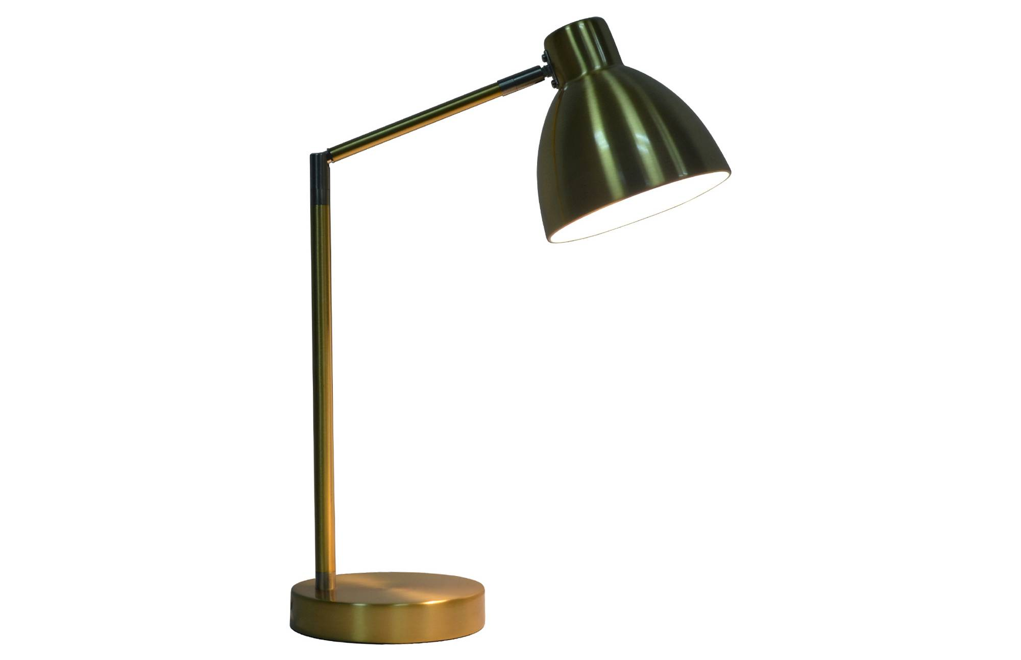 Desk Task Lamp, Gold