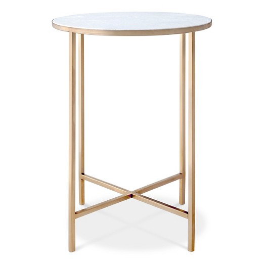 Marlton End Table Gold