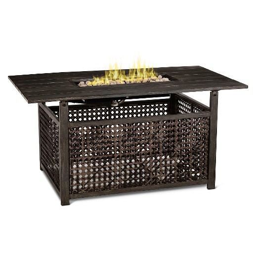 Fabron Rectangle Fire Table