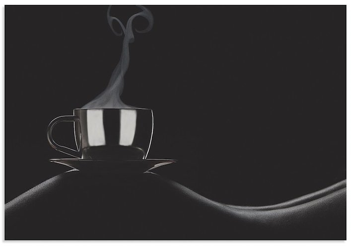 'Coffee in Bed' by Dmitriy Batenko Photographic Print