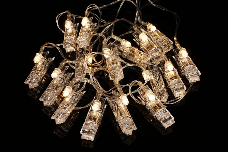 LED Photo Clip String Lights by Merkury