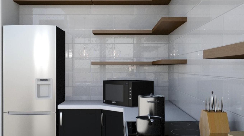 Albie Knows Charming Modern Kitchen Design Rendering