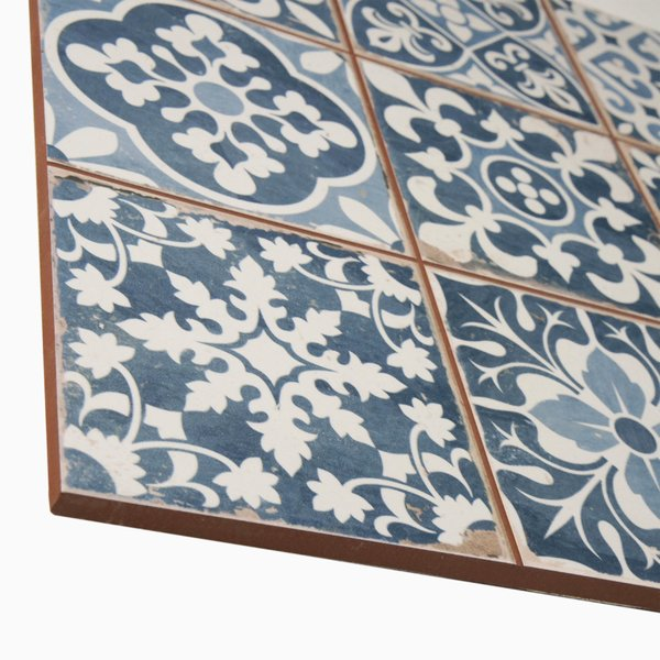 Ceramic Field Tile in Blue
