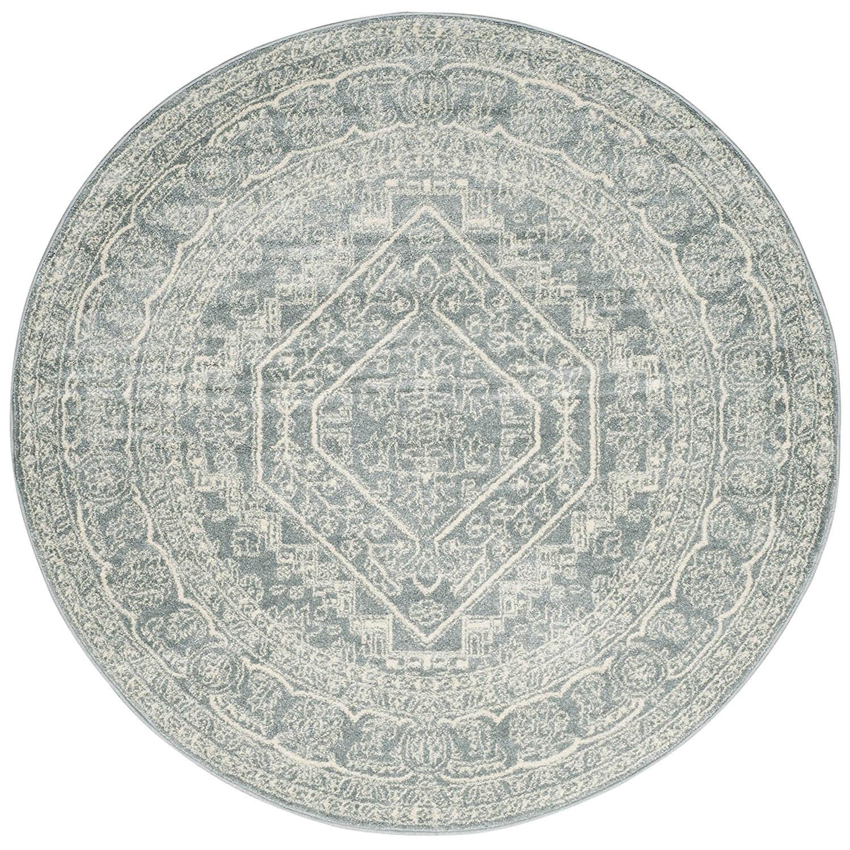 Safavieh Adirondack Collection | Slate & Ivory Vintage Round Area Rug (6' Diameter) | Albie Knows 2017 Amazon Favorites