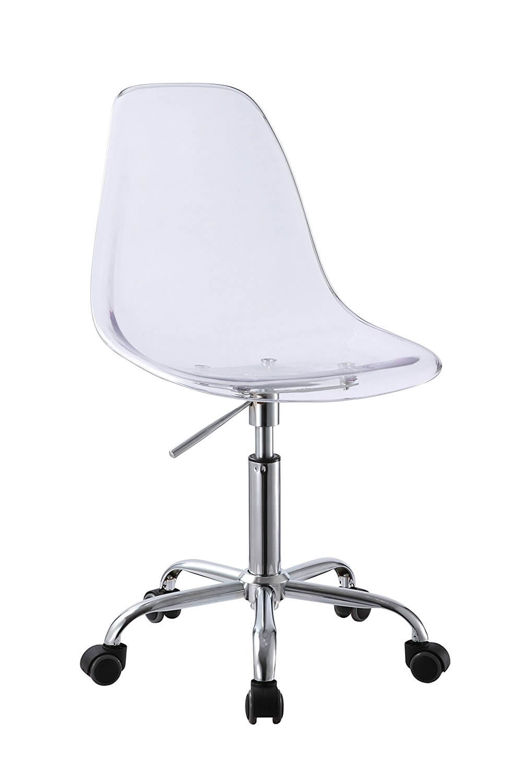 Retro Acrylic Hydraulic Lift Swivel Office Chair | Albie Knows 2017 Amazon Favorites