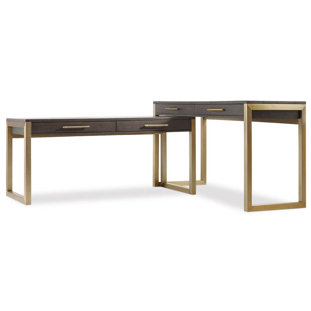 Curata Two-Piece Desk Group by Hooker Furniture