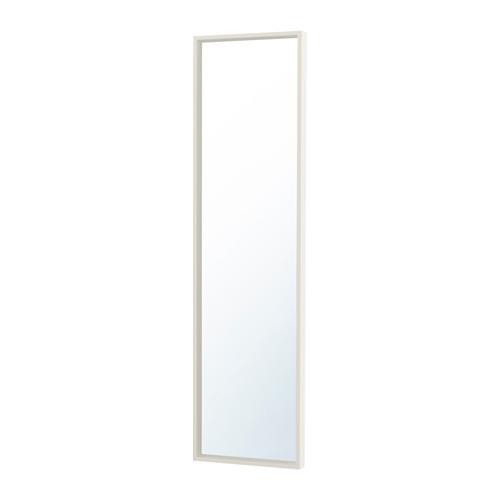 White Nissedal Mirror