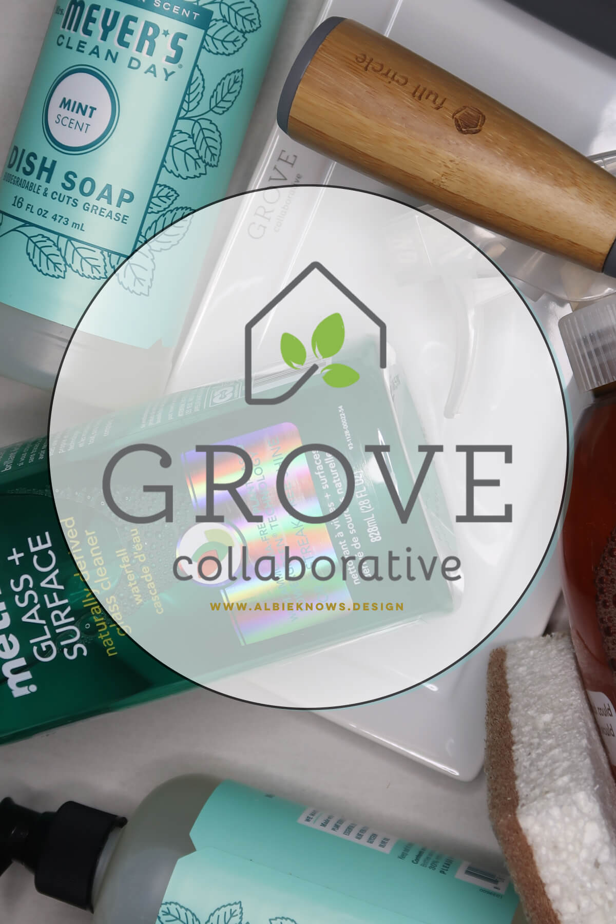 Albie Knows Grove Collaborative Spring Cleaning Unboxing