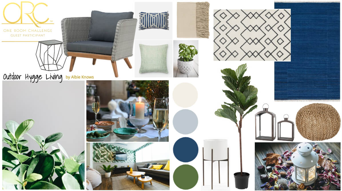 A Hygge inspired makeover feat. cool tones & textures