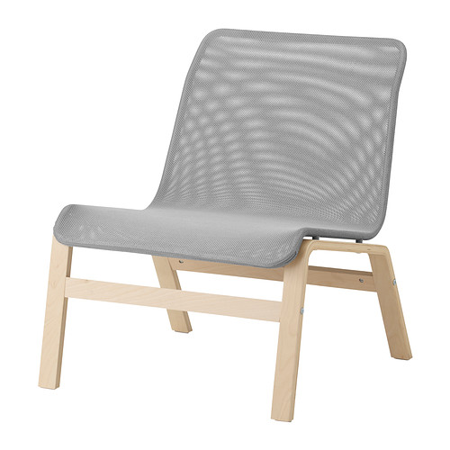 Albie Knows ORC -- Nolmyra Chair in Gray (IKEA)
